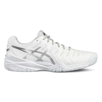 Asics GEL-Resolution 7 tennisschoenen Heren Wit