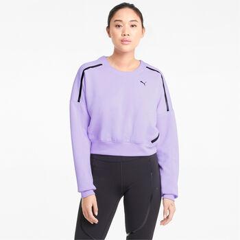 Puma Train Zip sweater Dames Paars