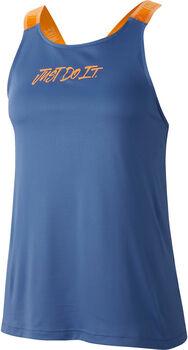 Nike Dry Elastik top Dames Blauw