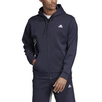 adidas Must Haves 3-Stripes hoodie Heren Blauw