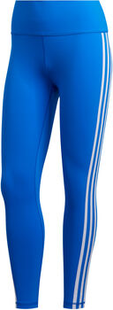 adidas Believe This 3-Stripes 7/8 legging Dames Blauw