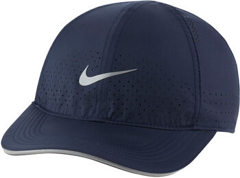 Nike Dri-FIT Aerobill Featherlight pet Blauw