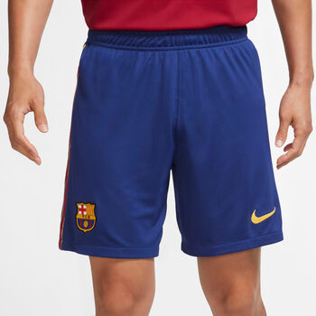 Nike FC Barcelona Stadion 2020/21 thuis-/uitshort Blauw