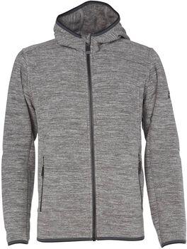 McKINLEY Choco II jr fleece hoodie Jongens Grijs