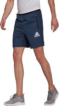 adidas Designed To Move Motion AEROREADY Short Heren Blauw