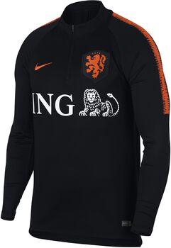 Nike Dry Nederlands Elftal Squad shirt Heren Zwart