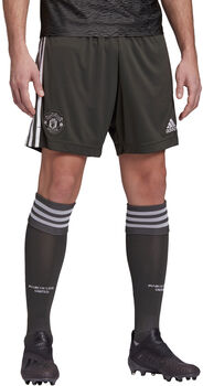 adidas Manchester United uitshort 2020-2021 Heren Groen