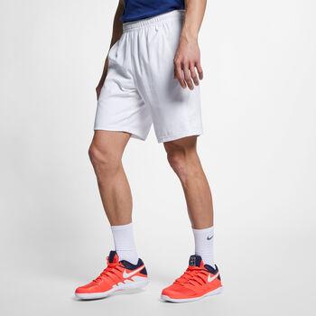 Nike Court Dry tennisshort Heren Wit