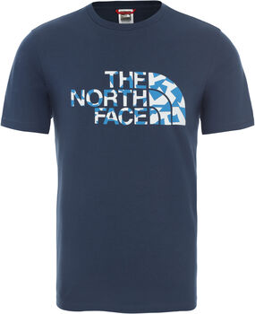 The North Face ML shirt Heren Blauw