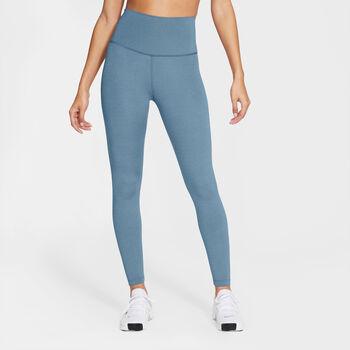 Nike Yoga 7/8 legging Dames Blauw