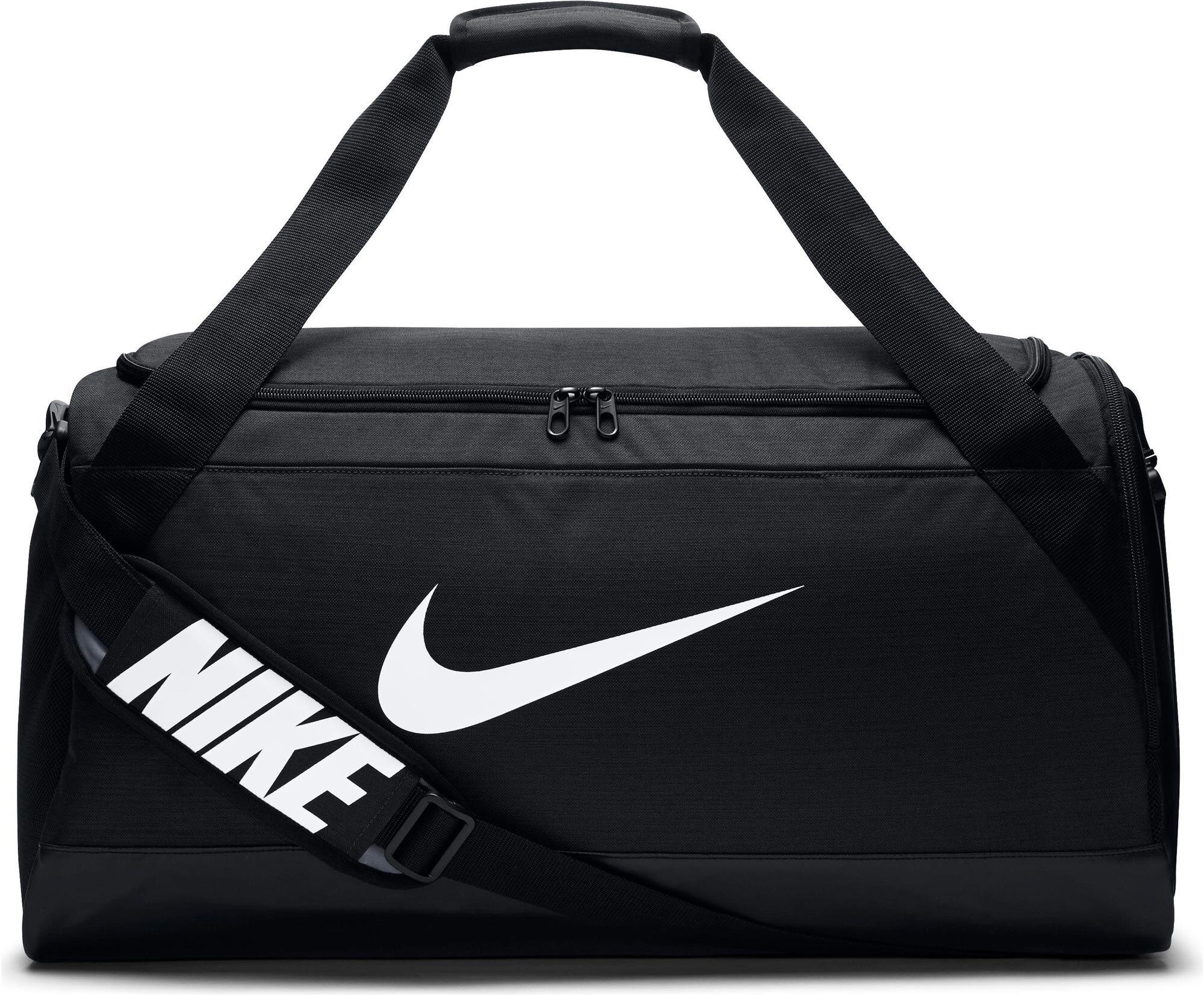 tassen voor dames intersportnike brasilia training sporttas zwart