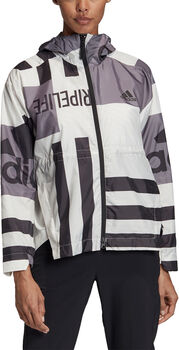 adidas Urban WIND.RDY Graphic windstopper Dames Wit