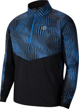 Nike Element 1/2-Zip longsleeve Heren Blauw