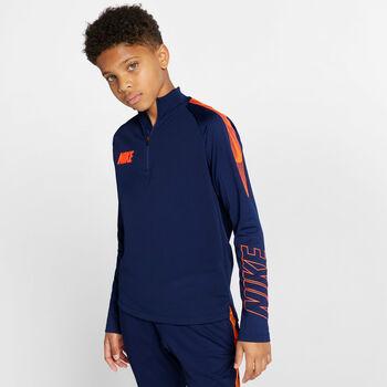 Nike Dry Squad Drill shirt Jongens Blauw