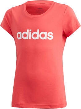 ADIDAS Essentials Linear shirt Meisjes Rood