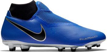 Nike Phantom Vision Academy Dynamic Fit FG/MG voetbalschoenen Blauw