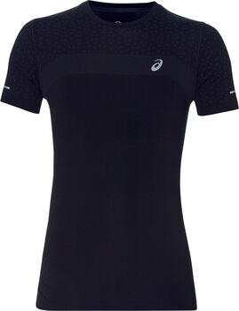 Asics Seamless Texture shirt Heren Zwart