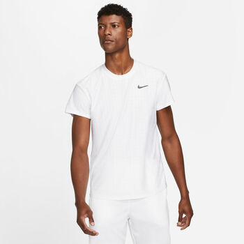 Nike Court Breathe Advantage shirt Heren Wit