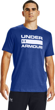 Under Armour Team Issue Wordmark shirt Heren Blauw