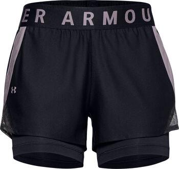 Under Armour Play Up short Dames Zwart