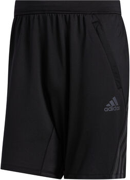 adidas AEROREADY 3-Stripes Cold Weather Knit Short Heren Zwart
