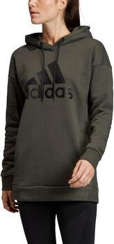 ADIDAS Must Haves Badge of Sport Logo hoodie Dames Groen