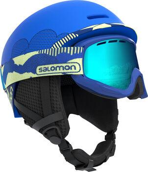 Salomon Grom skihelm Jongens Blauw