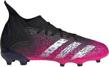 adidas Predator Freak.3 Firm Ground kids voetbalschoenen Zwart