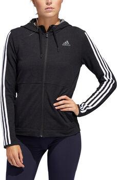 ADIDAS 3-Stripes hoodie Dames Zwart