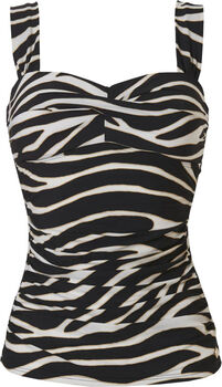 Wow Tankini top  Dames Zwart