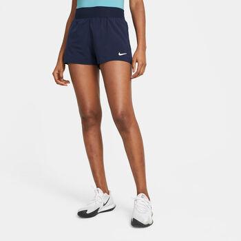 NikeCourt Flex Victory short Dames Blauw