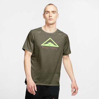 Nike Rise 365 Trail tank Heren Bruin