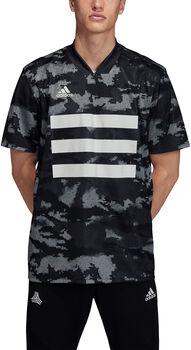 ADIDAS TAN Graphic Voetbalshirt Heren Zwart