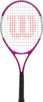 Wilson Ultra Pink 25 Tennisracket Kids Meisjes Wit