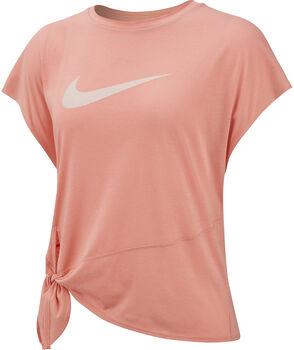 Nike Dry Side Tie top Dames Roze