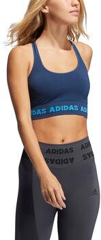 adidas Training Aeroknit Beha Dames Blauw