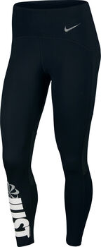 Nike Speed 7/8 Running legging Dames Zwart