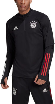 adidas FC Bayern München trainingsshirt 20/21 Heren Zwart