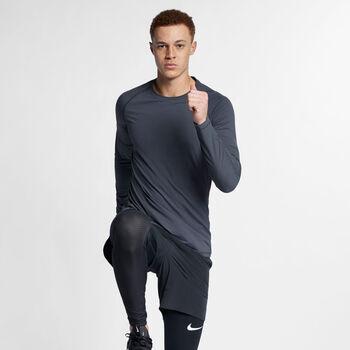 Nike Pro longsleeve Heren Grijs