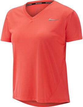 Nike Miler shirt Dames Oranje