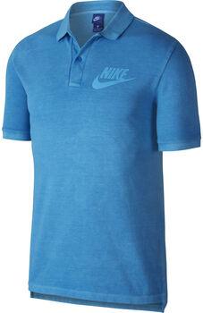 Nike Sportswear polo Heren Blauw