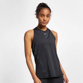 Nike Pro shirt Dames Zwart