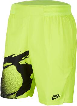 Nike Court Slam short Heren Geel