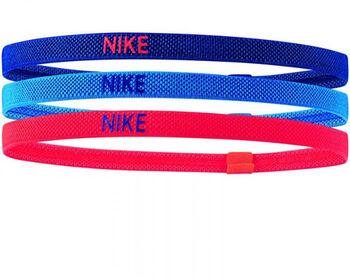 Nike Elastic haarbandjes (3 paar) Blauw