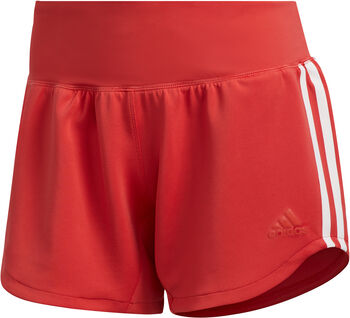 ADIDAS 3-Stripes Woven Gym short Dames Rood