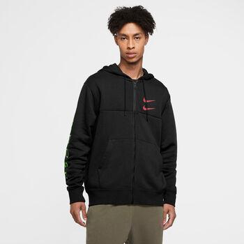 Nike Sportswear Swoosh shirt Heren Zwart