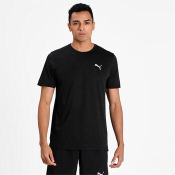 Puma Run Fav Heather shirt Heren Zwart