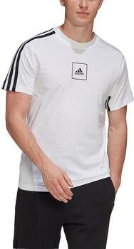 adidas 3-Stripes shirt Heren Wit