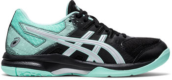 ASICS GEL-Rocket 9 volleybalschoenen Dames Zwart