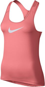 Nike Pro tank Dames Rood
